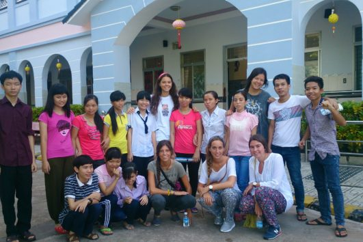 Voluntariado en centro de niños con discapacidad visual en Vietnam