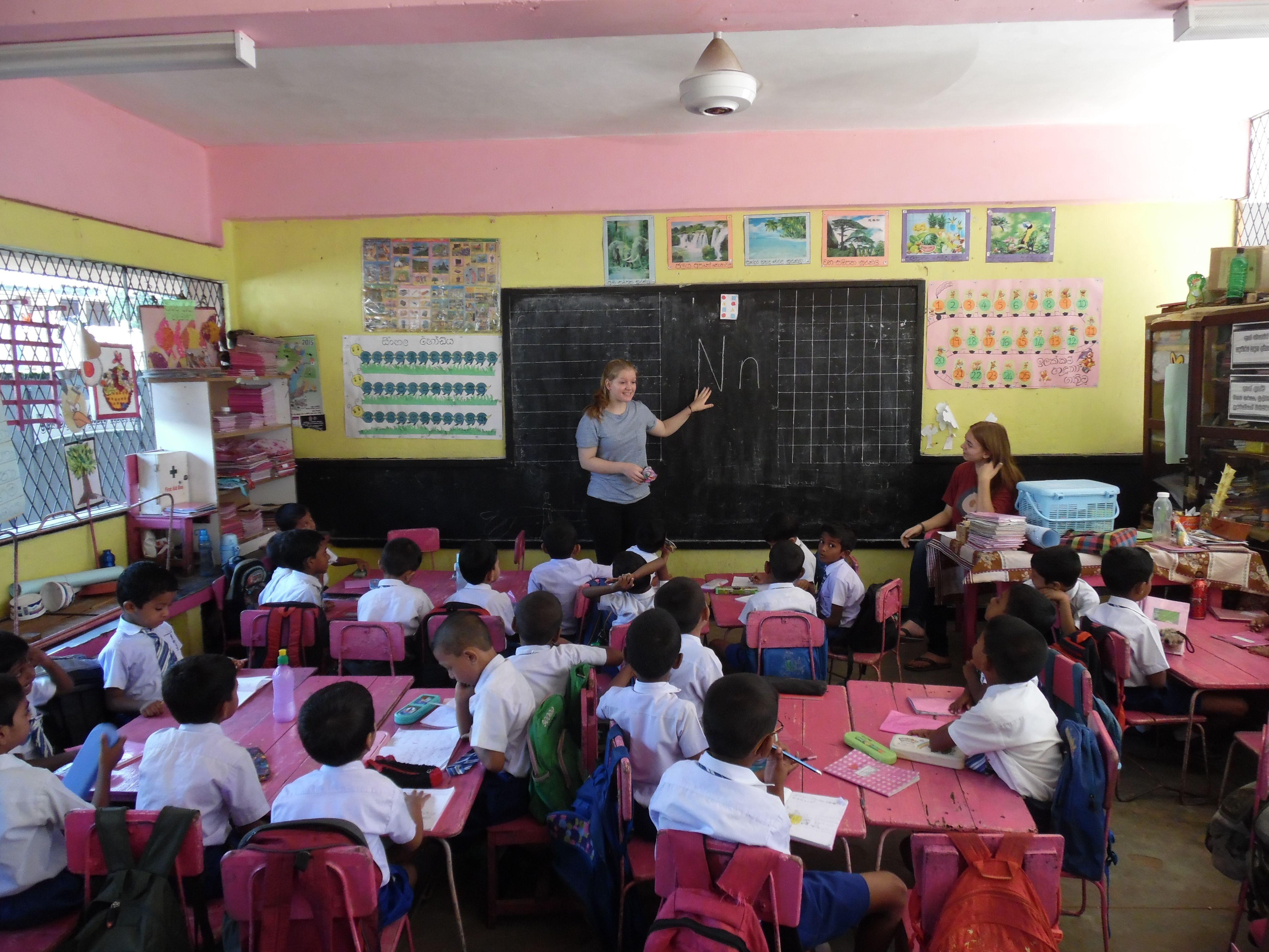 Voluntariado en una escuela en Colombo