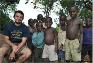 Voluntariado con niños en África