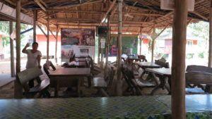 Comedor casa de voluntarios