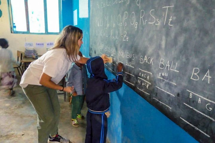 Voluntariado educativo en Etiopía